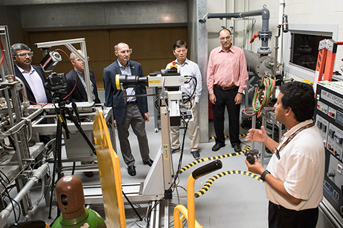 Engineering faculty visit Army Research Lab