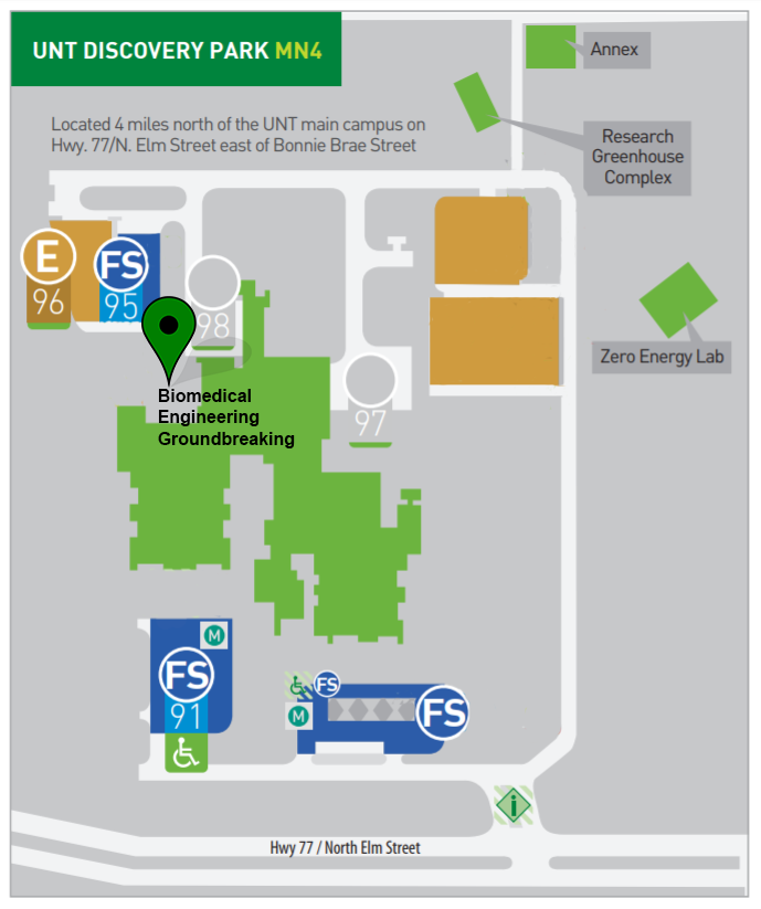 Map And Directions For Biomedical Engineering Building