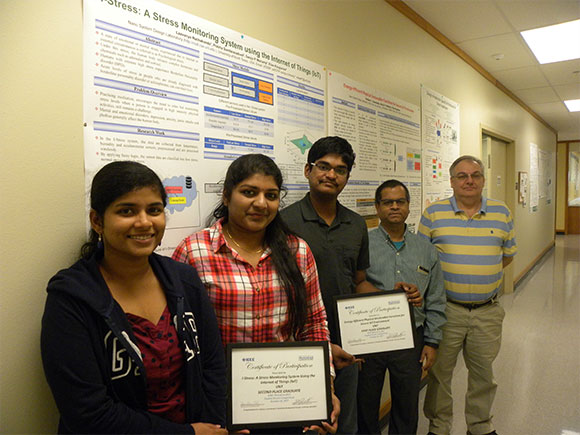 UNT NSDL students receive awards