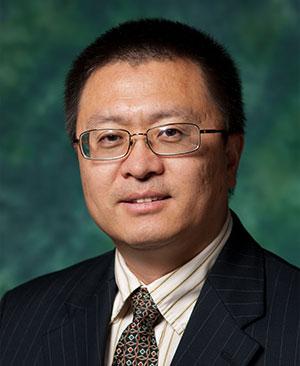 UNT faculty Sheldon Shi