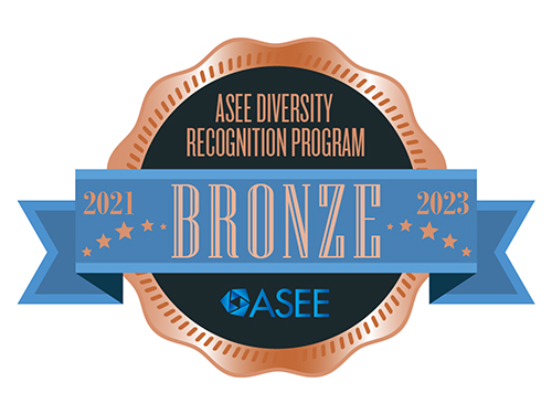 Graphic of ASEE Bronze award