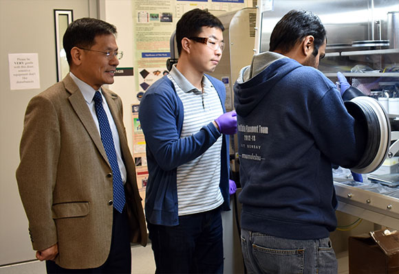 UNT researchers created thin material