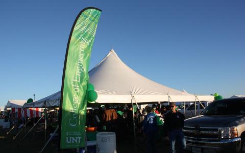 College of Engineering tent