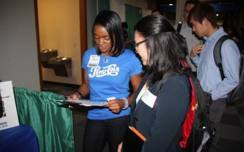 Alumna Mayaria Johnson recruits for PepsiCo