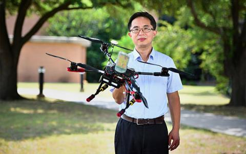 UNT faculty Shengli Fu receives NSF funding for drone research