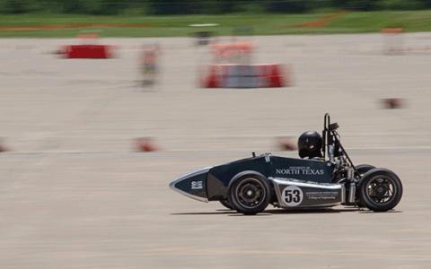 UNT racing at Formula SAE Lincoln
