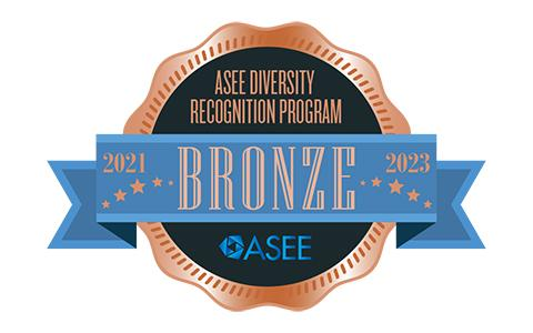 Graphic of the ASEE Bronze award