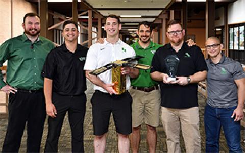 UNT Engineering student team members