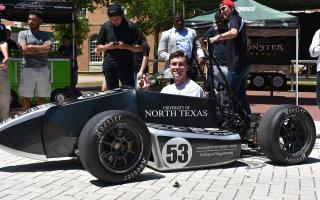 UNT race car ranked 13th in 2017 competition