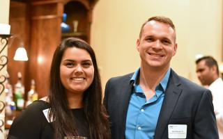 Sarah Pena ('16 Mechanical Engineering) and Alex Reese ('15 Mechanical Engineering)