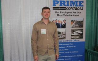 Alumnus Max Carritt recruiting for Prime Controls
