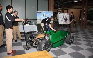 Moving the Formula SAE car