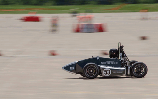 UNT racing at Formula SAE Lincoln
